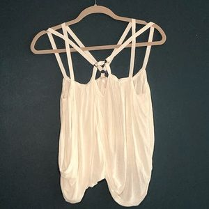 Free People Double Strap Boho Top